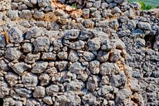 Free Stone Wall Royalty Free Stock Photo - 20795875