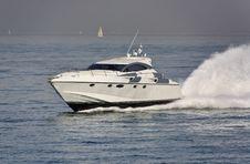 Free Italy, Tirrenian Sea, Luxury Yacht Rizzardi 45  Stock Images - 20796484