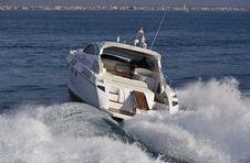 Free Italy, Tirrenian Sea, Luxury Yacht Rizzardi 45  Royalty Free Stock Photos - 20796748