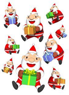 Free Santa S Gifts Royalty Free Stock Image - 20797296