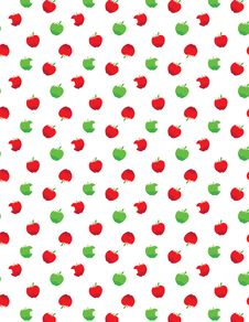 Free Fresh Apple Background Royalty Free Stock Photos - 20797308