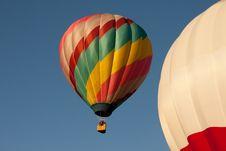 Free 2 Hot Air Balloons Royalty Free Stock Photo - 20797715