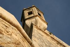 Free Fortress Tower - Valetta, Malta Stock Photography - 20798012