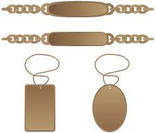Free Identity Tag Bracelet Stock Image - 20799081