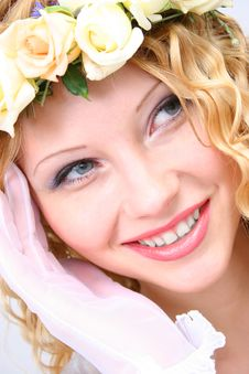 Free Bride. Royalty Free Stock Photography - 20799237
