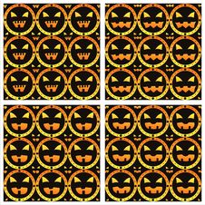 Free Scary Halloween Patterns Royalty Free Stock Photos - 20799358