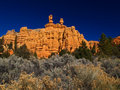 Free Sandstone Formations In Red Canyon Royalty Free Stock Photography - 2083737