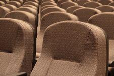 Free Auditorium Seating II Royalty Free Stock Photos - 2080668