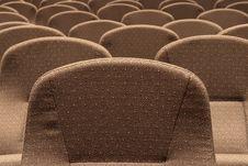 Free Auditorium Seating III Royalty Free Stock Images - 2080679