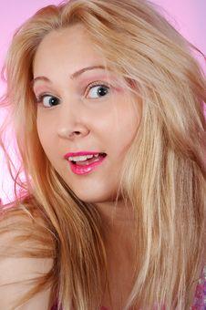 Free Amazed Girl Stock Images - 2082144