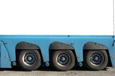 Trailer Of Truck Detail Stock Photography