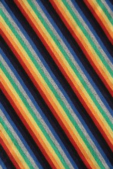 Free Colorful Striped Fabric Background Stock Images - 2083154