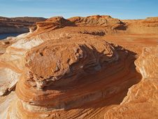Free Rock Formation In The Glen Canyon Royalty Free Stock Photography - 2083637