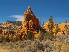 Free Sandstone Formations In Red Canyon Royalty Free Stock Photos - 2083778