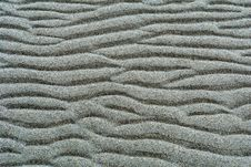 Free Background - Rippled Sand Royalty Free Stock Photography - 2083997