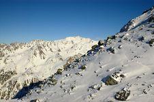 Free Winter High Mounatins Stock Image - 2084411