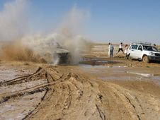 Jeep-safari Royalty Free Stock Image