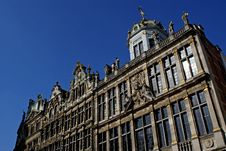 The Grand Place In Brussels Stock Photography