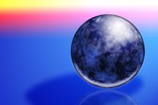Free Magic Sphere Royalty Free Stock Photo - 2085145