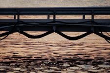Free Sunset Bridge Royalty Free Stock Image - 2085316