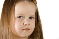 Free Little Girl Royalty Free Stock Photography - 2085487