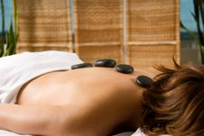 Free Stone Massage Stock Photo - 2086960