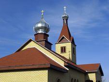 Free Church In Kraslava, Latvia Stock Photography - 2087182