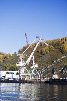 Free Port Baikal Royalty Free Stock Photography - 2087487