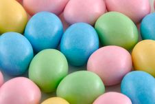 Easter Candies Close-up Royalty Free Stock Image