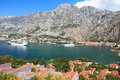 Free Kotor Bay And A Cruise Ship Stock Photos - 20801143