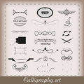 Free Calligraphy Set Stock Image - 20804761