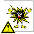 Free Danger Sign. Royalty Free Stock Image - 20805566