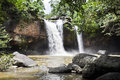 Free Beautiful Waterfall In The Jungle. Stock Photo - 20806620