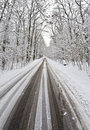 Free Slippery Country Road Stock Image - 20808601