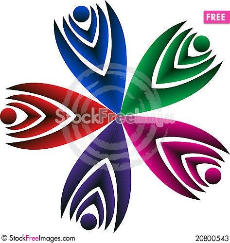 Free Couple Logo Stock Photos - 20800543