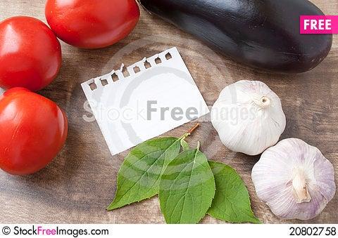 Free Recipe Royalty Free Stock Photos - 20802758