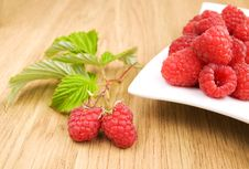 Free Raspberries Royalty Free Stock Photography - 20800637