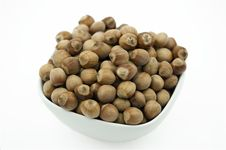 Free Hazelnuts In A Dish Royalty Free Stock Photography - 20800757