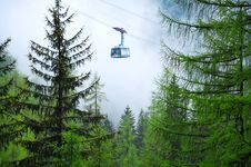 Cable Car, Hallstatt, Austria Stock Photography