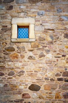 Free Small Window In The Tower Background Royalty Free Stock Image - 20802036