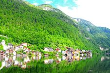 Free Village In Hallstatt, Austria Stock Photo - 20802290