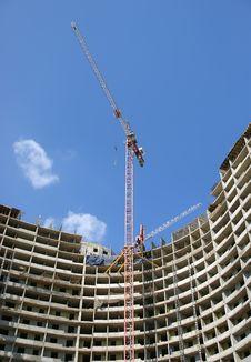 Building Crane Royalty Free Stock Image