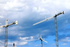Free Cranes Royalty Free Stock Photos - 20803848