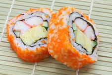 Free Maki Sushi Royalty Free Stock Photography - 20803887