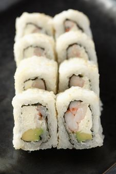 Free Philadelphia Maki Roll Royalty Free Stock Images - 20804109