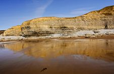Free Dunraven Beach, Southerndown, Wales Royalty Free Stock Photos - 20804248