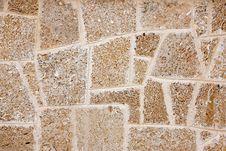 Free Wall Of Limestone Royalty Free Stock Photo - 20804385