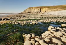 Free Dunraven Beach, Southerndown Royalty Free Stock Photo - 20804415