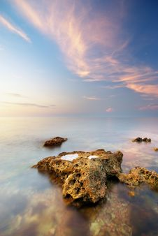 Free Beautiful Seascape Royalty Free Stock Images - 20804519