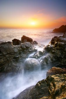 Free Beautiful Seascape Stock Photography - 20804872